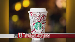 starbucks unveils new design for holiday cups youtube