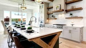 modern farmhouse kitchen black cabinets 60 modern farmhouse kitchen ideas