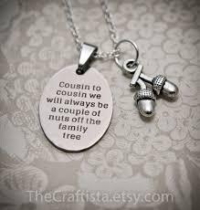 cousin necklace c10b cousin gift cousin necklace cousin