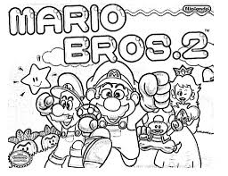 mario bros coloring pages free page site bebo pandco