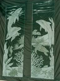 etched glass doors palm sunset 2d glass front doors etched palm trees sunset frosted