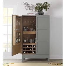 Mirrored Bar Cabinet Creative Of Gray Bar Cabinet Baron Brown Deco Bar Cabinet