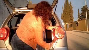chevrolet daewoo matiz change the molten bulb pilot focus rear