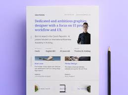 Make Your Resume The Essential Elements Of Creative Resume Design