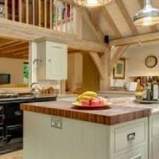 devon chopping board kitchen farmhouse with aga over mantel