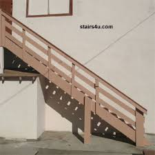 exterior stair construction how to build stairs