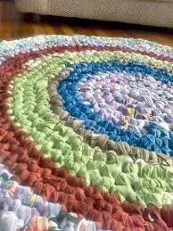 Crochet A Rag Rug Have Extra Fabric Laying Around Make A Rag Rug Crafting A