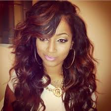 sew in weaves with bangs 7 sew in hairstyles for black women xcsunnyhair