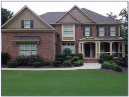 exterior paint colors for white brick house painting home