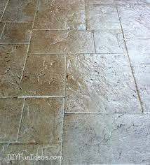 Stamped Concrete Patio Diy Gorgeous Diy Stamped Concrete Tile Driveway For Less Much Less