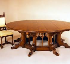 round gothic dining room tables dining table design ideas