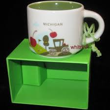 mug ornament starbucks michigan yah demi mug ornament you are here new model t