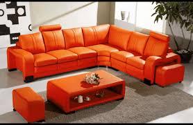 sofa burnt orange sofa inviting burnt orange leather couches