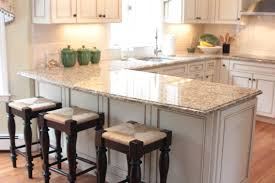 Updated Kitchens by Surprising Design Ideas Using Rectangular White Rugs And
