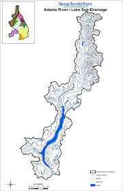 Blank Map Of Bc by Watershed Maps Shuswap Watershed Project