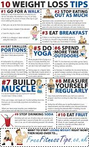 10 weight loss tips free fitness tips