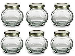 honey jar wedding favors nakpunar 6 pcs 8 oz glass jars for jam honey