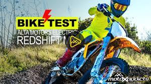 motocross electric bike motoxaddicts bike test electric motocross bike u2013 alta redshift mx