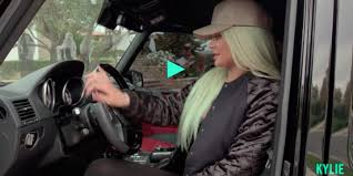 Kylie Jenner Gives Tour Of Watch Kylie Jenner Gives A Tour Of Her Insane Car Collection