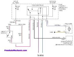 mini fuel pump wiring diagram mini wiring diagrams collection