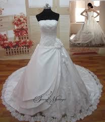robe de mariã e bustier dentelle createur robe de mariage pas cher mariage