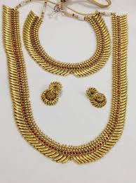 necklace sets design images Double necklace sets design 63 vasthra jewels jpg