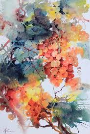 lian quan zhen orange gs watercolour