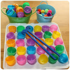 Matching Colors Easter Fine Motor Activity Color Matching Activity