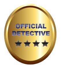 investigator badge clip art 15