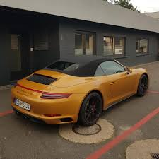 porsche gold this porsche 911 gts secretly uses 911 turbo s exclusive gold