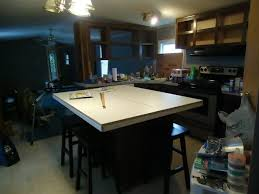 how to make a kitchen island from a set of lower kitchen cabinets