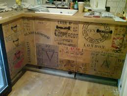Upcycled Kitchen Cabinets 21 Creative Kitchen Cabinet Designs Wood Crates Crates And Kitchens
