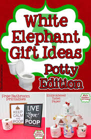 bathroom gift ideas white elephant gift ideas potty edition gifts exchange
