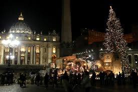 watch live pope francis leads christmas eve mass at the vatican