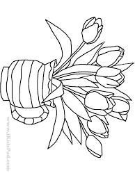 vase coloring sheets