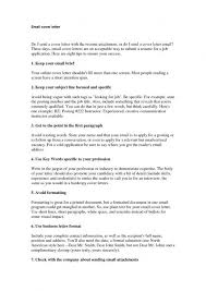 Subject For Sending Resume Through Mail Sending A Cover Letter How To Write A Cover Letter 6 Steps