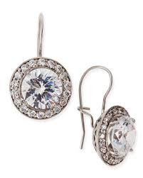 cubic zirconia earrings cubic zirconia earrings neiman
