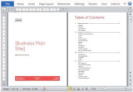 business plan in word templates memberpro co