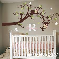 Nursery Monkey Wall Decals Monkeys Wall Decals Sticker Alluring Monkey Bedroom Decor Home