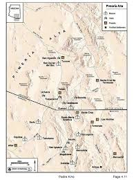 Forrest Fenn Treasure Map Pimeria Alta Mission Map But Map Shows Boundaries That Did Not