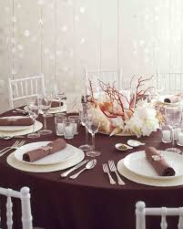 Dining Room Table Floral Centerpieces by 25 Non Floral Wedding Centerpiece Ideas Martha Stewart Weddings