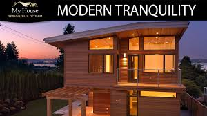 my house feature homes modern tranquility youtube
