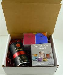 assorted gift boxes assortment of coffee cocoa and tea gift box