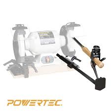 powertec 71021 bench grinder sharpening jig kit value pack 4 in