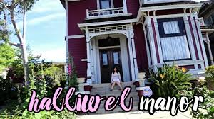charmed halliwell manor tour youtube