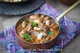 agneau korma cuisine indienne agneau korma les joyaux de sherazade