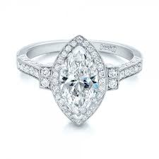 marquise halo engagement ring best 25 marquise halo rings ideas on halo rings