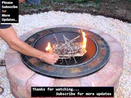 Grill For Fire Pit by Fire Pit Grill Designs Picture Collection Youtube