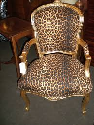 Printed Fabric Armchairs Marvellous Design Leopard Print Chair Animal Print Armchairs And