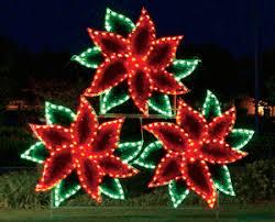 wreath poinsettia displays led lighting u2013 holiday lighting